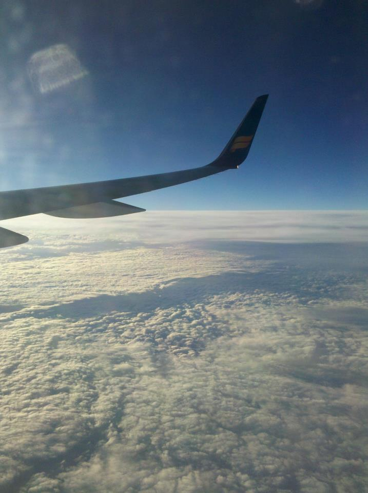 On the way to Amsterdam...
