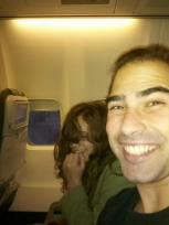 We're on a plane!